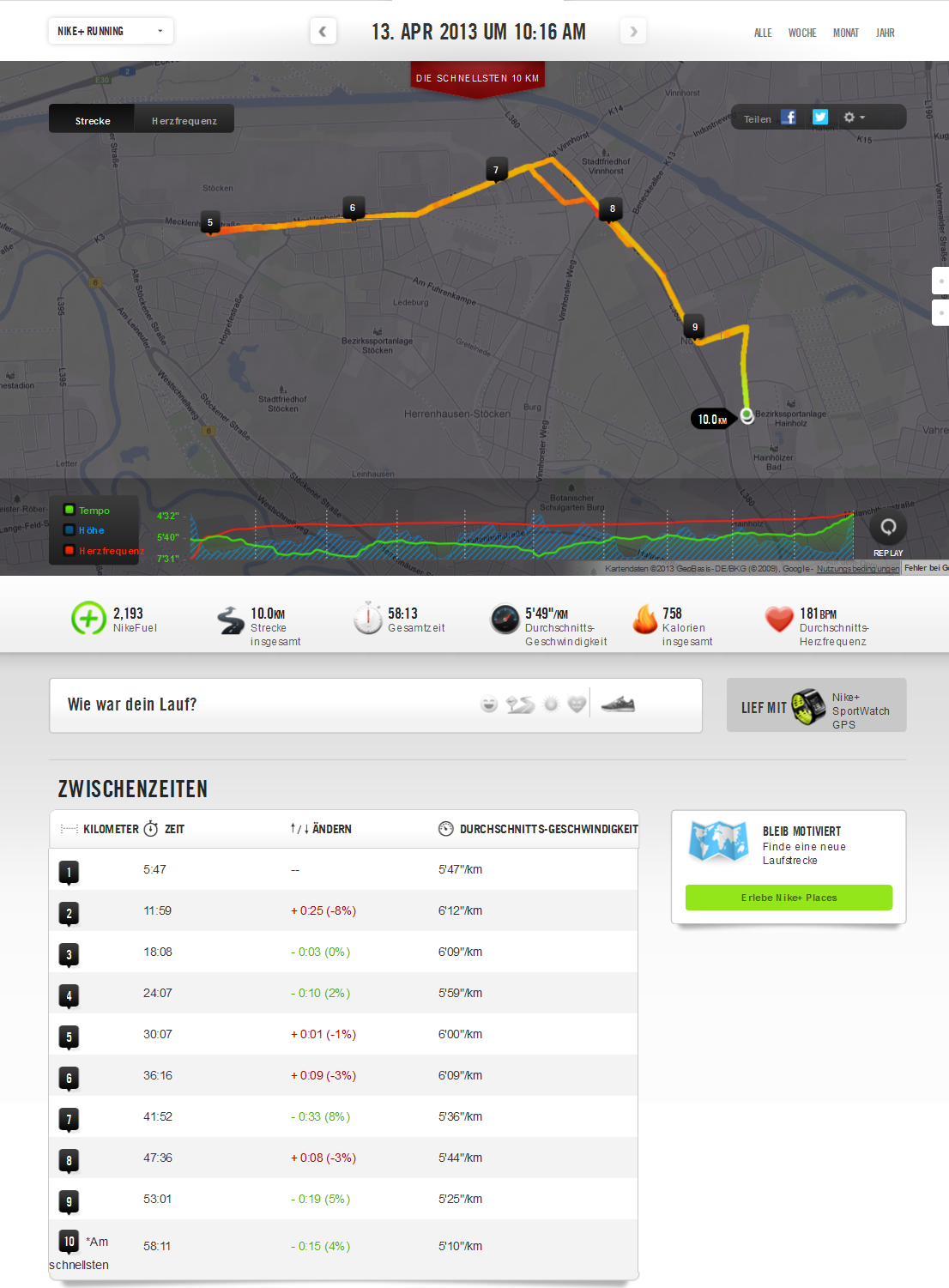 HM Training: Run 11