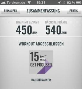 NTC ab workout Nike Training Club App