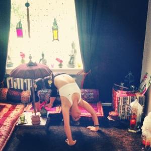 yoga room beingfitisfun