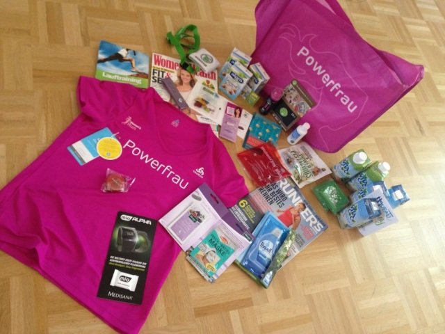 Womens Run Hamburg 2013 gifts