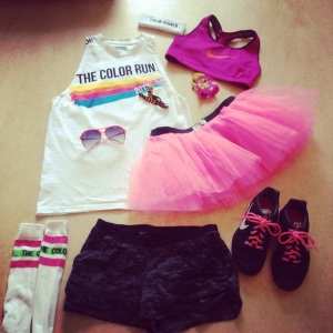 Color Run Hannover Outfit