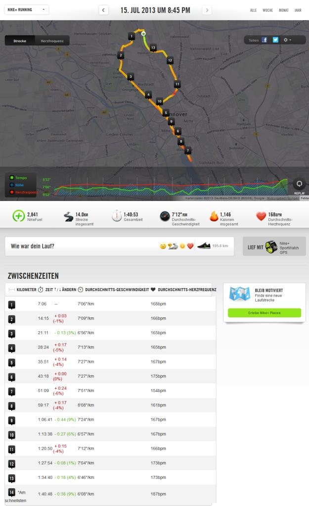 Half Marathon Training Run 21